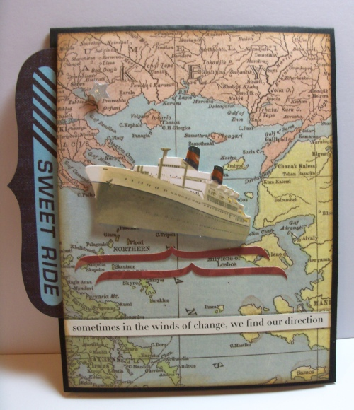 Travel card on the 7 seas