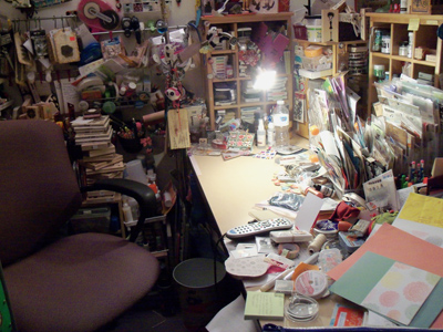 workdesk, table, craft room