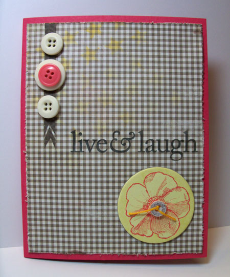 Pretty Pink Posh Craft Dash 29 Challenge