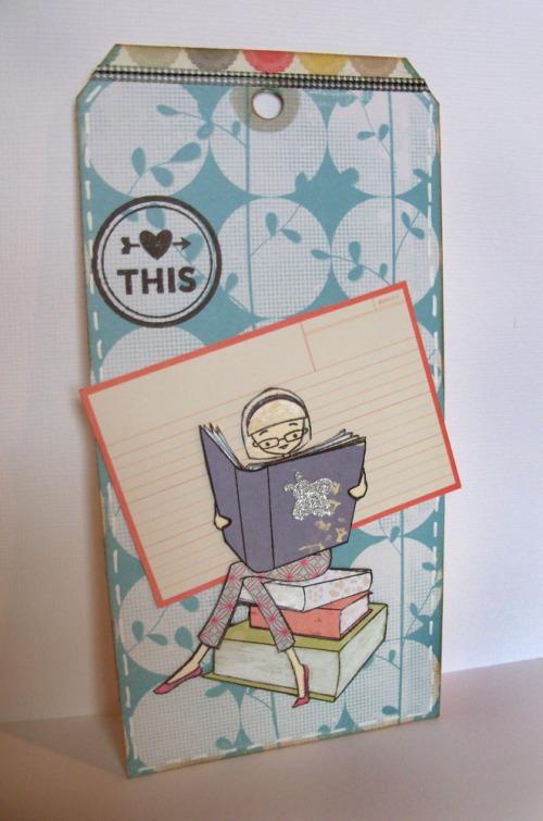 Paper pieced bookmark