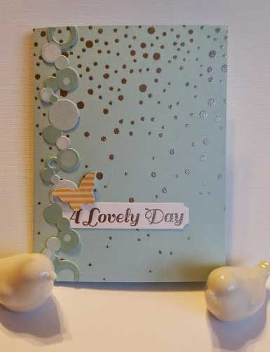 Lovely Day card created by Crafting{Without}Kids