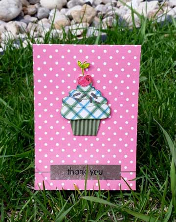 Sketchy Cupcakes for the Little Tangles challenge by CraftingWithoutKids