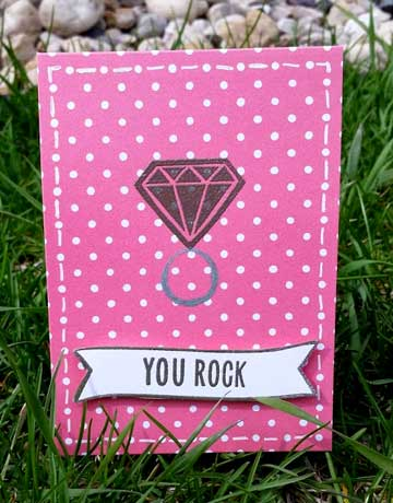 You Rock for the Little Tangles challenge by CraftingWithoutKids
