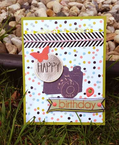 Happy Birthday Card made by Crafting{Without}Kids