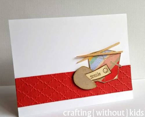 Takeout card by Crafting{Without}Kids for Lawnscaping Challenge