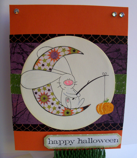 Tuesday sketch and TCP Halloween card by Crafting{without}Kids