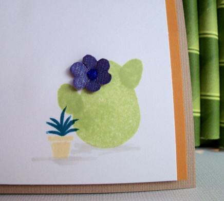 Cactus for Waffle Flower stamps by Crafting{without}Kids