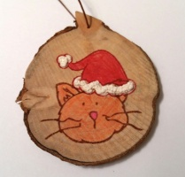 Wooden Ornament by Crafting{Without}Kids