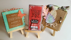 Mini Canvases by Crafting{without}Kids