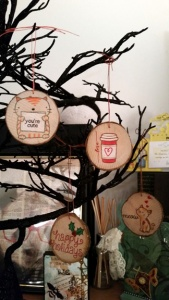 Wooden Ornaments by Crafting{Without}Kids
